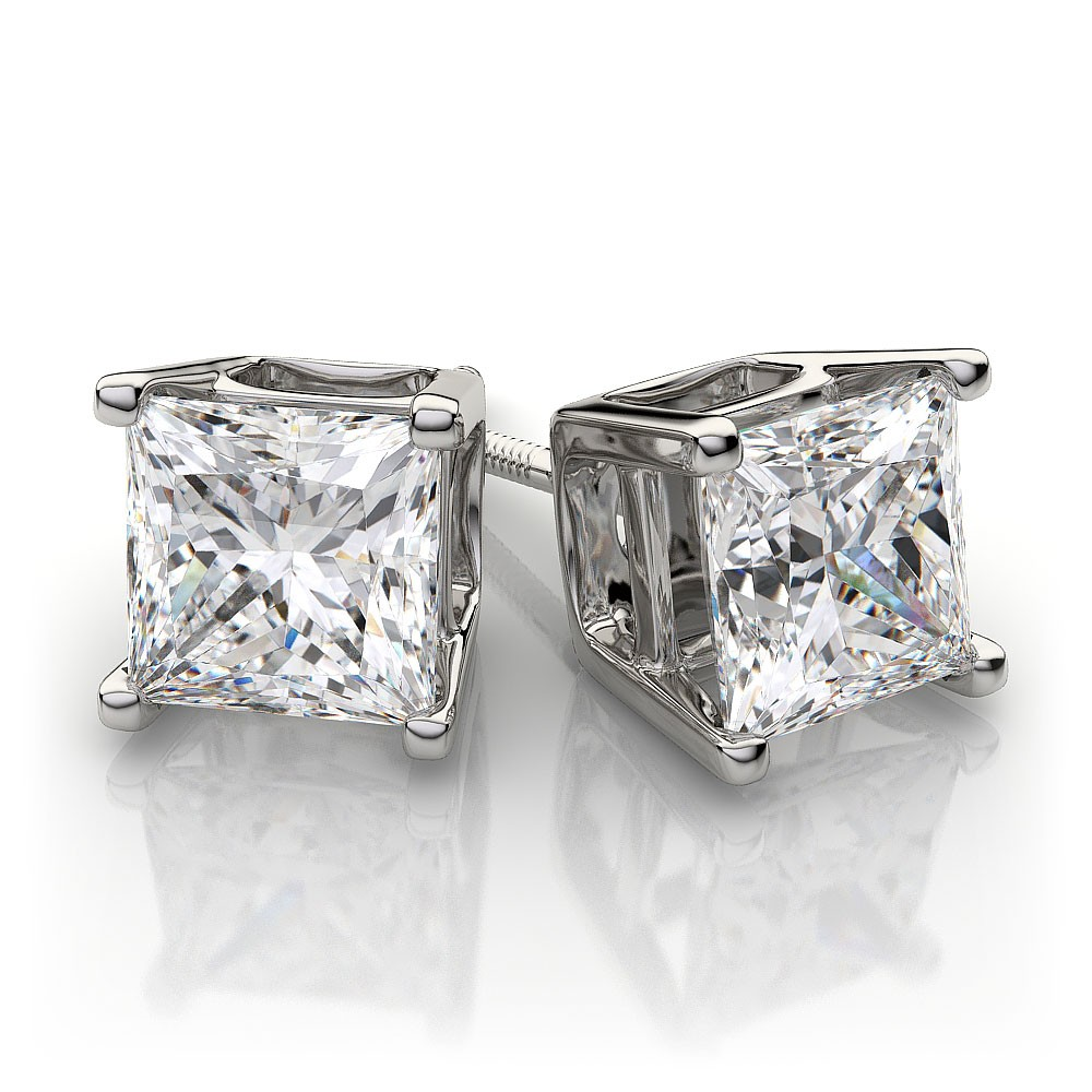 princess-cut-diamond-stud-earrings-in-platinum-b50