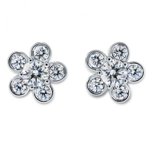 Atelier Swarovski Bloom Stud Earrings | Joes Jewelry St Maarten