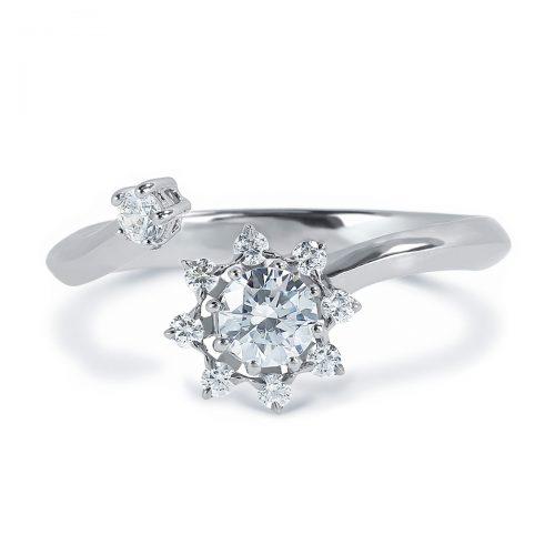 Atelier Swarovski Bloom Curved Ring | Joes Jewelry St Maarten