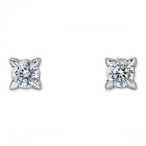 Atelier Swarovski 18k Essentials Stud Earrings | Joes Jewelry St Maarten
