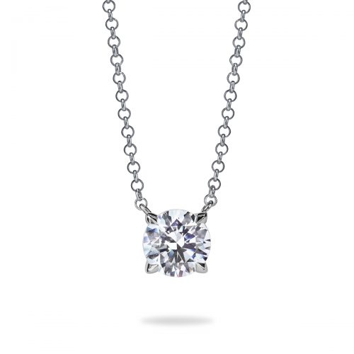 Atelier Swarovski Diama Essentials Mini Solitaire Necklace | Joes Jewelry St Maarten