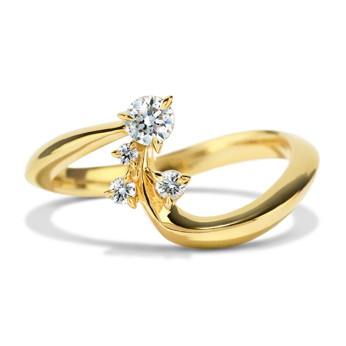 153169d9607f Atelier Swarovski Glacial Crescent Ring