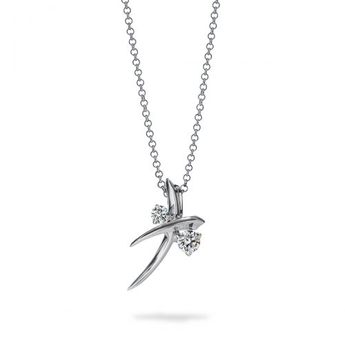 Atelier Swarovski Encounter Delicate Necklace | Joes Jewelry St Maarten