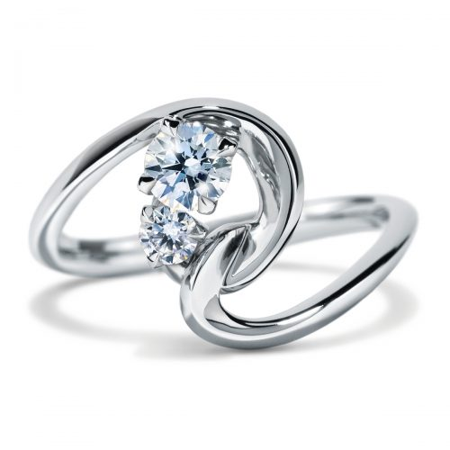 Atelier Swarovski Intimate Interlocking Ring | Joes Jewelry St Maarten