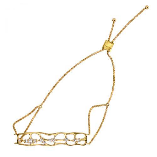 Atelier Swarovski Lace Bolo Bracelet | Joes Jewelry St Maarten