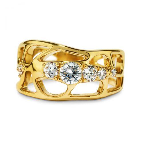 Atelier Swarovski Lace Narrow Ring   Joes Jewelry St Maarten