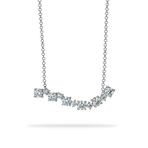Atelier Swarovski Signature Wave Necklace | Joes Jewelry St Maarten