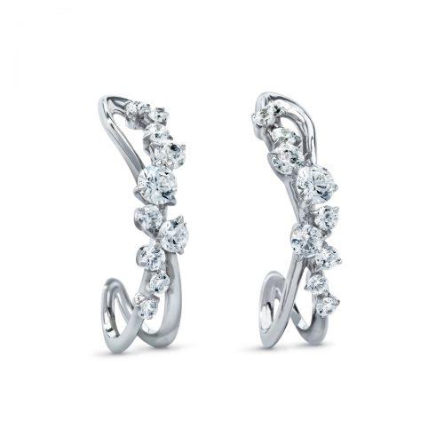 Atelier Swarovski Encounter Earrings | Joes Jewelry St Maarten