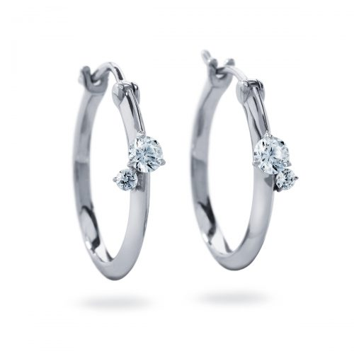 Atelier Swarovski Intimate Hoop Earrings | Joes Jewelry St Maarten