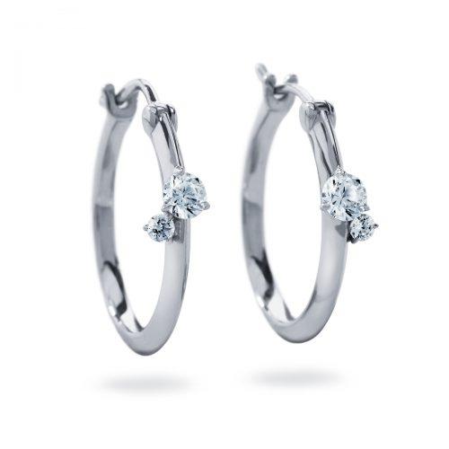 Atelier Swarovski Intimate Hoop Earrings | Joes Jewelry St Maarten